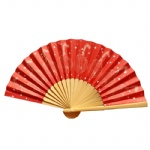 16cm size small paper fan customized